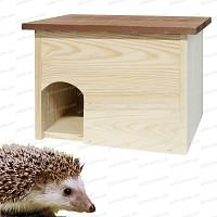 Hérisson Maison Abri et refuge en bois FSC