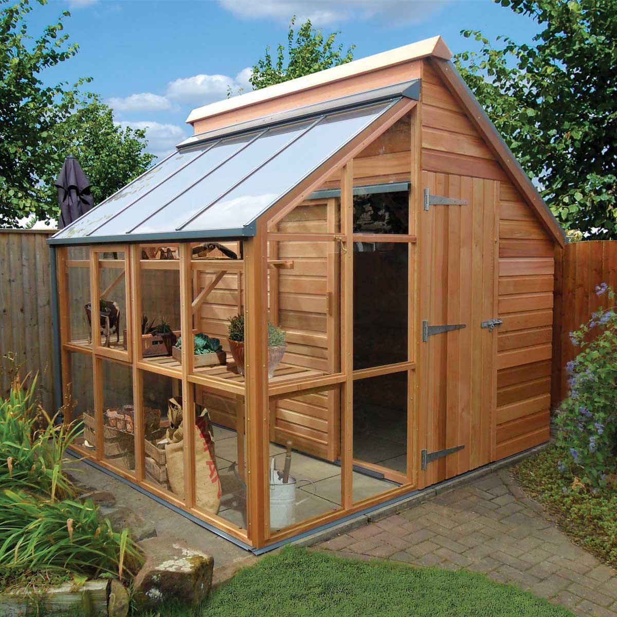 serre de jardin et abri en bois gabriel ash 5 panneaux vente au meilleur prix jardins anim s