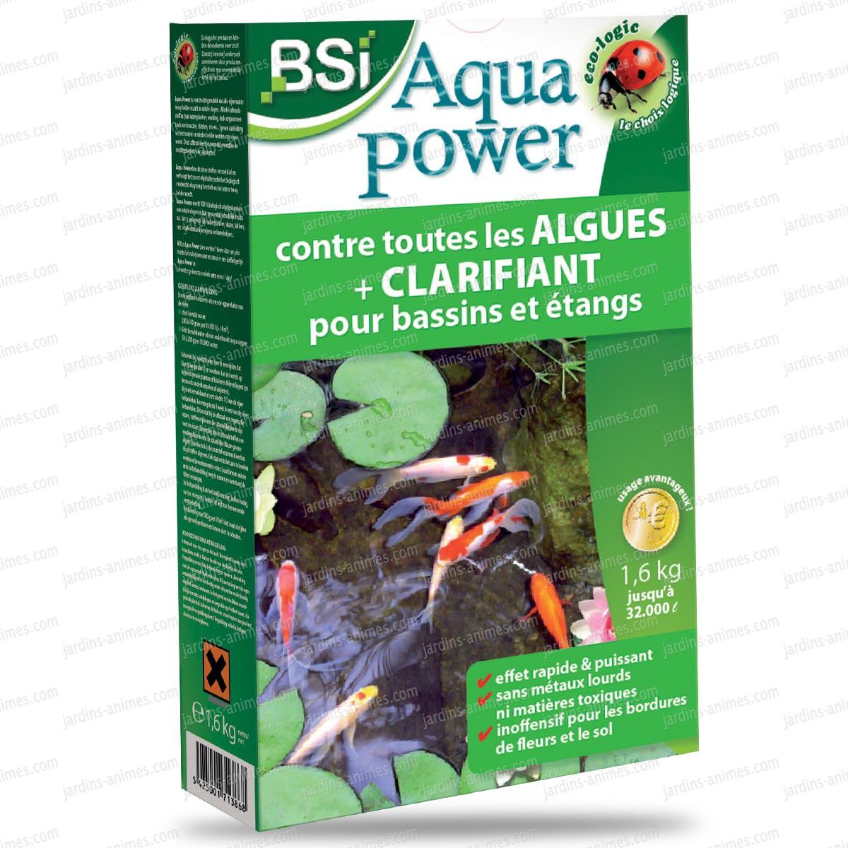 Anti Algues AquaPower 80m3 - Sujet, Fontaine, Pompe Bassin