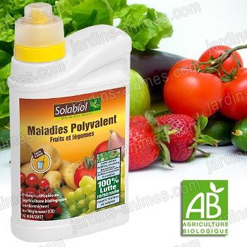 Solution Bordelaise fruits & légumes 400ml Agriculture Bio