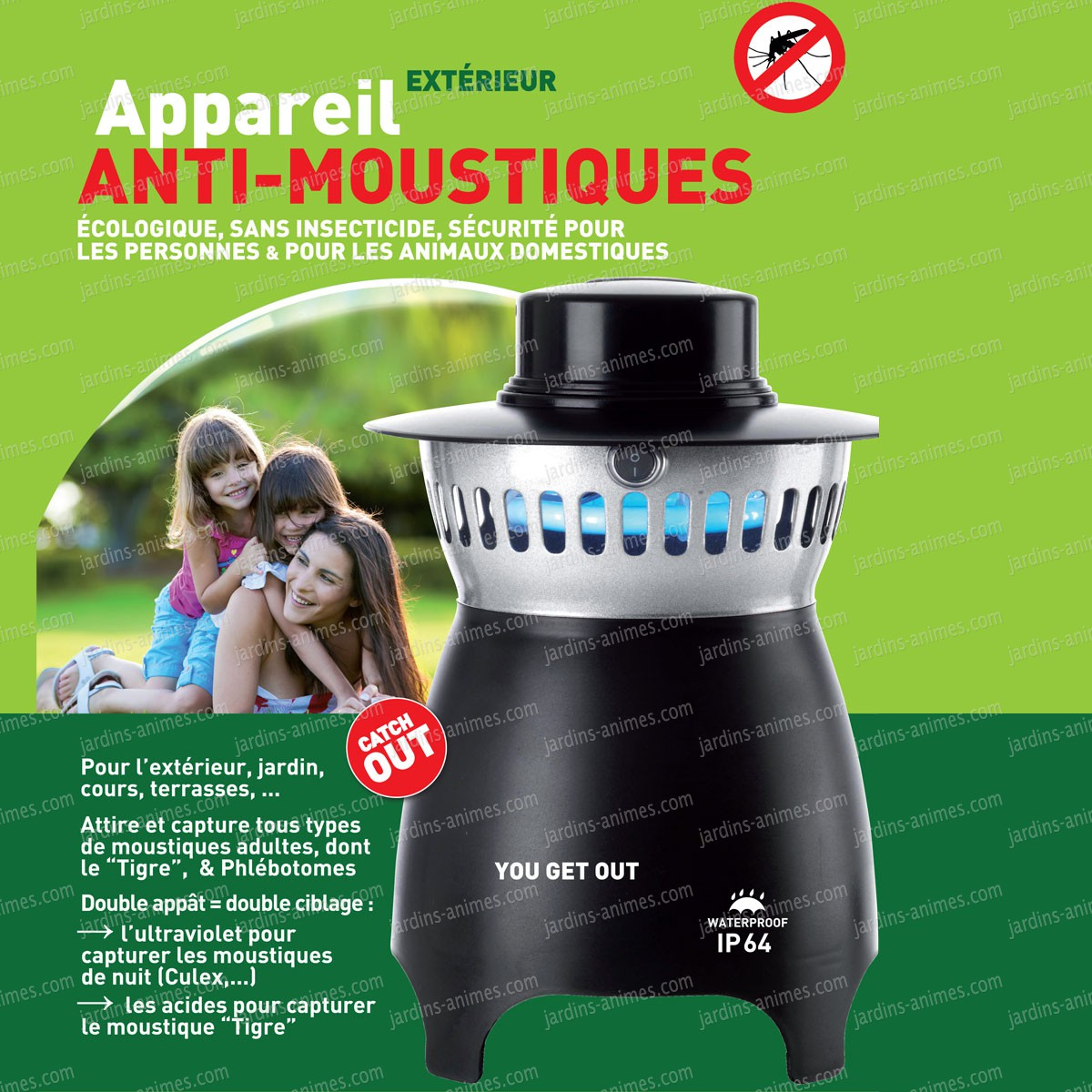 Pi ge ext rieur anti moustique you get out anti guepe et for Plante anti moustique exterieur