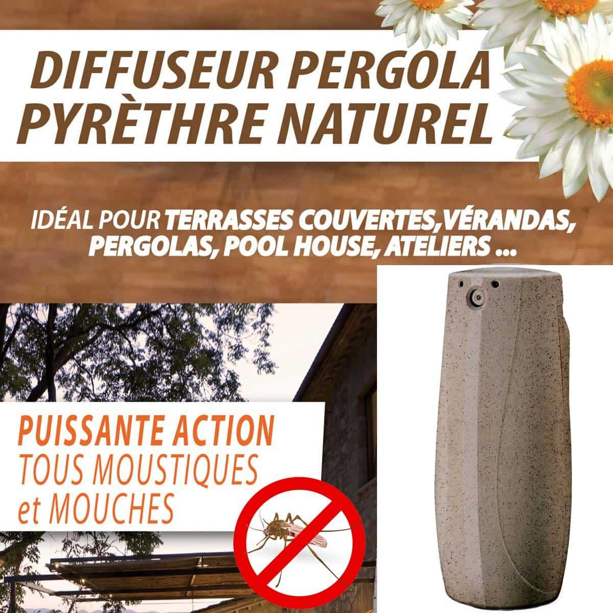 Diffuseur Anti Moustiques Ext Rieur Au Pyr Thre