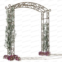 Arche de jardin Pagode