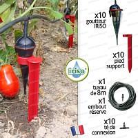 Kit arrrosage jardin iriso x10