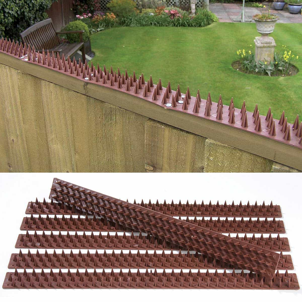 Barri re anti pigeons inoffensive 3m de long en plastique for Anti fourmis naturel jardin