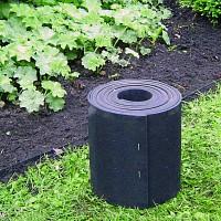 Barriere anti envahissantes 5mx20cm caoutchouc recyclé