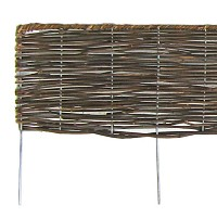 Bordure bois pliable en rotin 180cm
