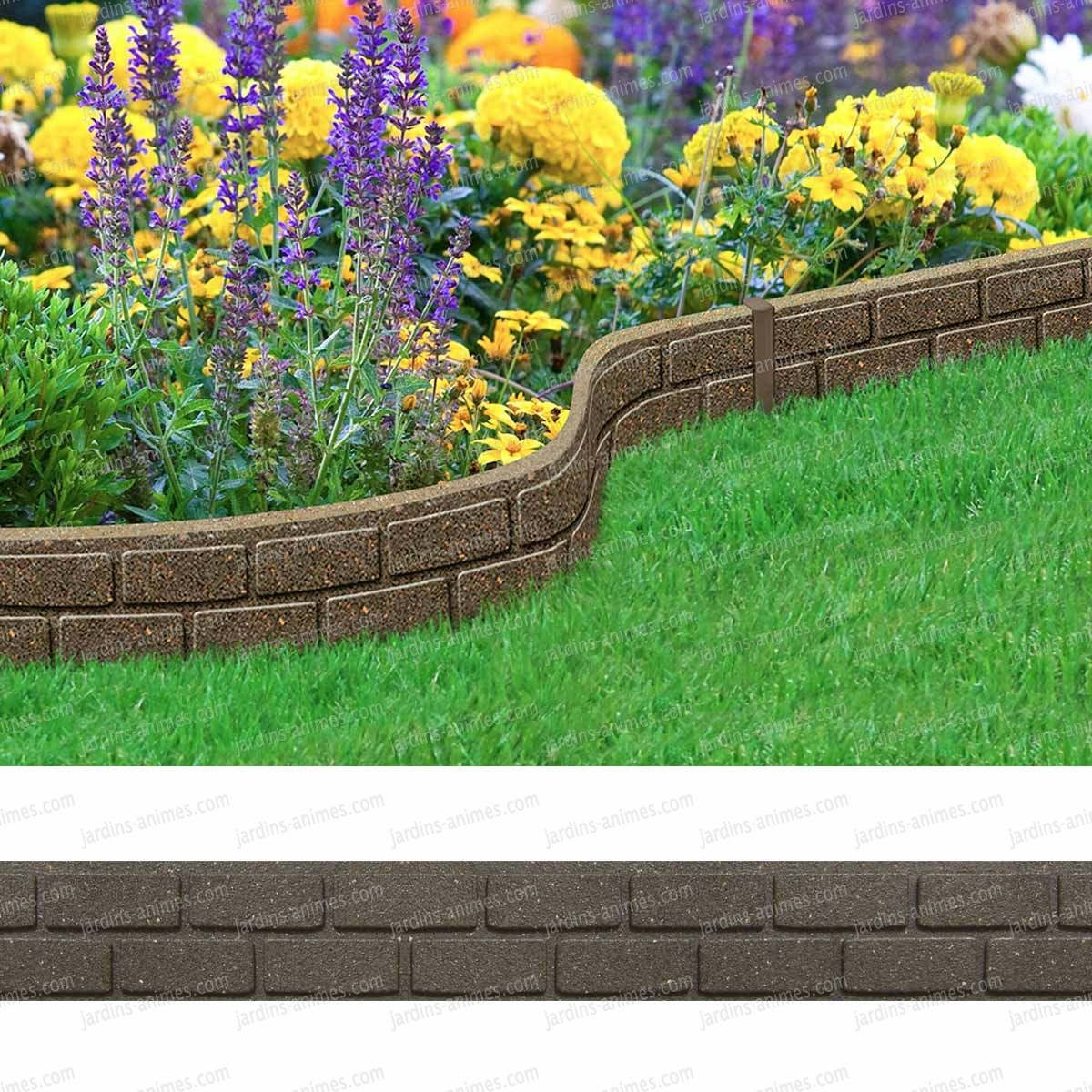 Beautiful gravier bordure jardin images design trends for Borduras jardin