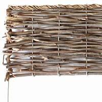 Bordure bois pliable - Rotin osier L. 100cm x H. 20cm