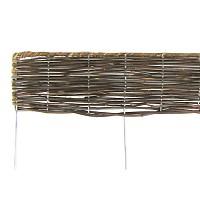 Bordure bois pliable en rotin L.180cm x H.20cm