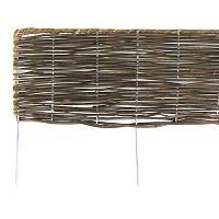 Bordure bois pliable en rotin L.180cm x H.30cm