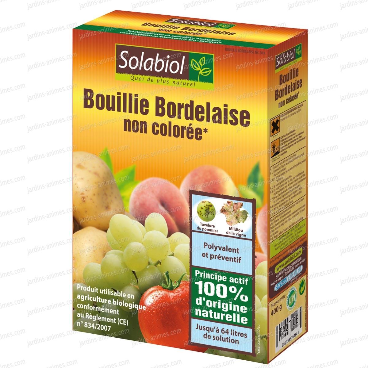 Bouillie bordelaise incolore 400g agriculture bio fongicide bio - Traitement cerisier bouillie bordelaise ...