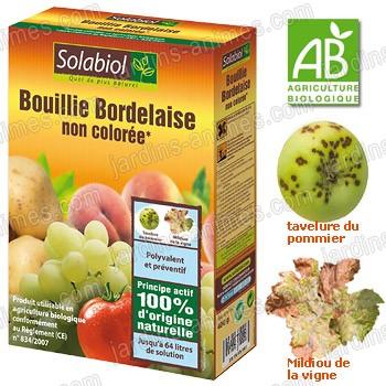 Bouillie bordelaise incolore 400g agriculture bio for Bouillie bordelaise piscine
