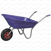 Brouette couleur violet 85L