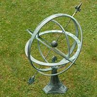 Cadran Solaire Bronze<br>sphère armillaire