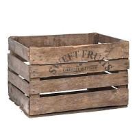 Cageot fruits et légumes en bois