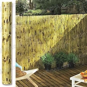 Boutique achat tuteurs attaches jardins animes - Canisse bambou castorama ...