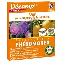 Phéromone carpocapse des prunes - 3 mois (2 capsules)