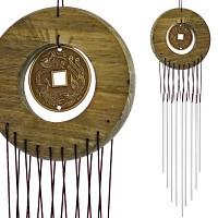 Carillon à vent bois et aluminium Dragon