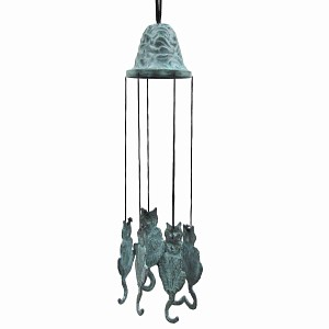 Carillon bronze chat
