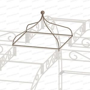 Toile pour Kiosque de jardin tonnelle 4 pieds - Arches Kiosque et ...