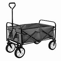 Chariot de jardin pliable - Remorque à main 4 roues