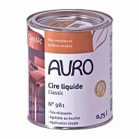 Cire liquide bois Classic 0.75L Auro 981