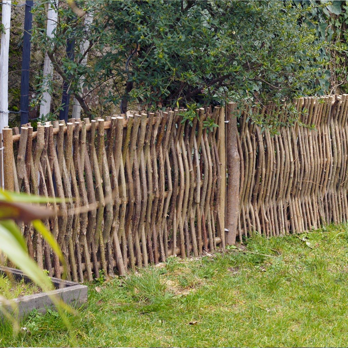 Bois Pour Brise Vue brise vue, clôture et grillage | jardins-animes
