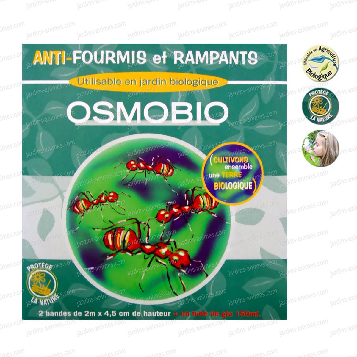 collier arboricole anti fourmis et rampants lot de 2 boites traitement anti insectes et souris. Black Bedroom Furniture Sets. Home Design Ideas