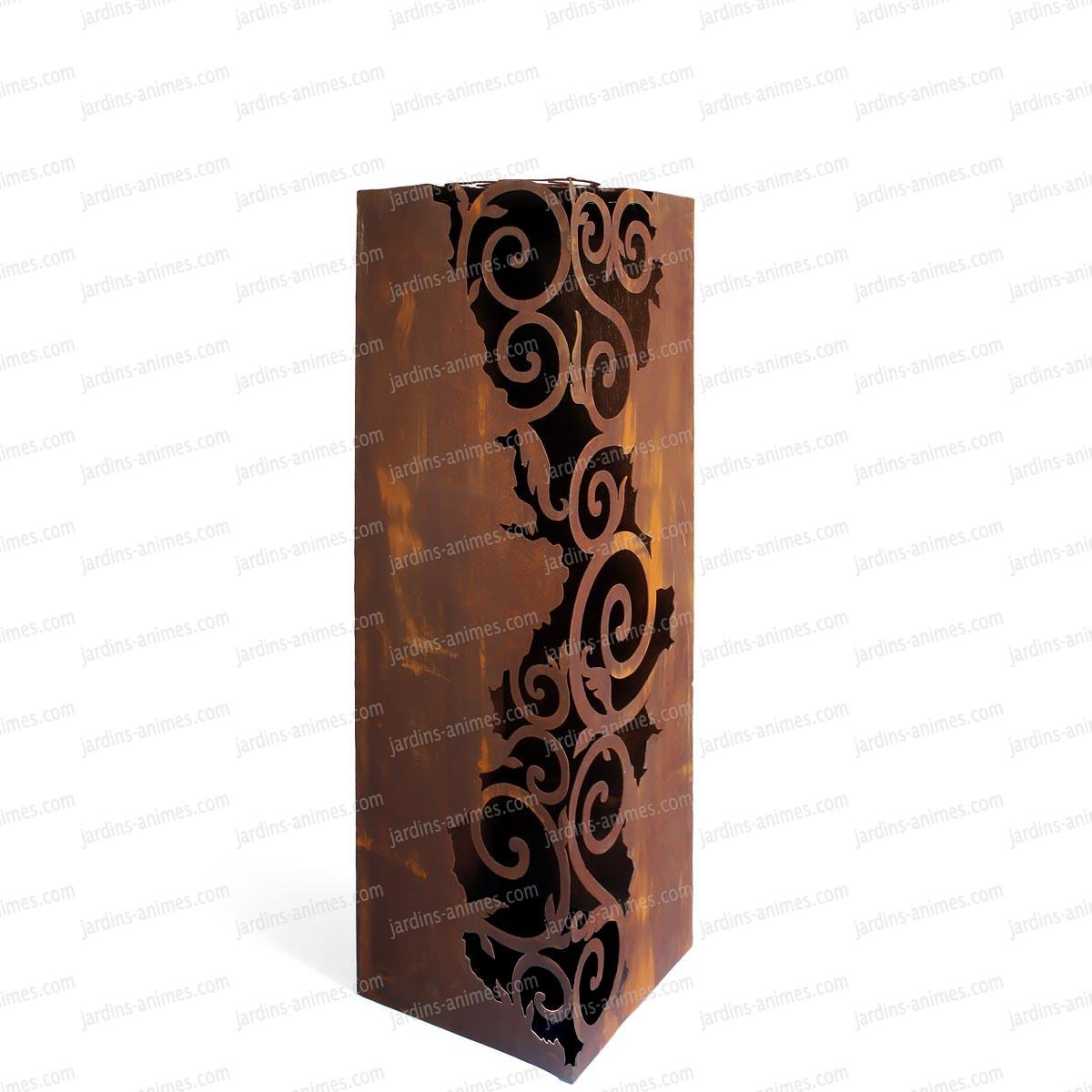 d coration jardin colonnes. Black Bedroom Furniture Sets. Home Design Ideas