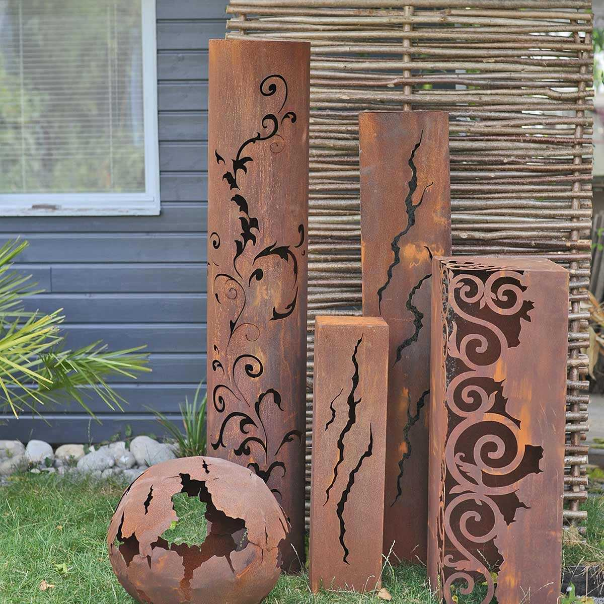 Image abri de jardin en metal galvanise décoration jardin ...