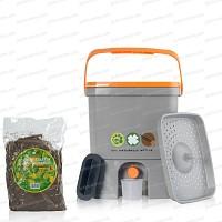 Composteur de cuisine x1 +sac 2kg