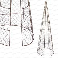 Topiaire Cone 140cm à ouverture centrale