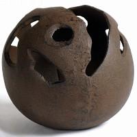 Contenant boule en fonte à garnir diam.20cm