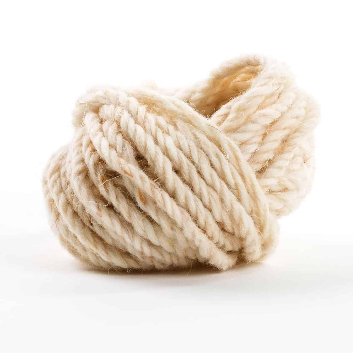 cordelette fine laine de mouton blanc naturel 10m x protection hivernale des plantes. Black Bedroom Furniture Sets. Home Design Ideas