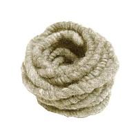 Cordelette épaisse laine de mouton - Blanc naturel 3m x 1cm