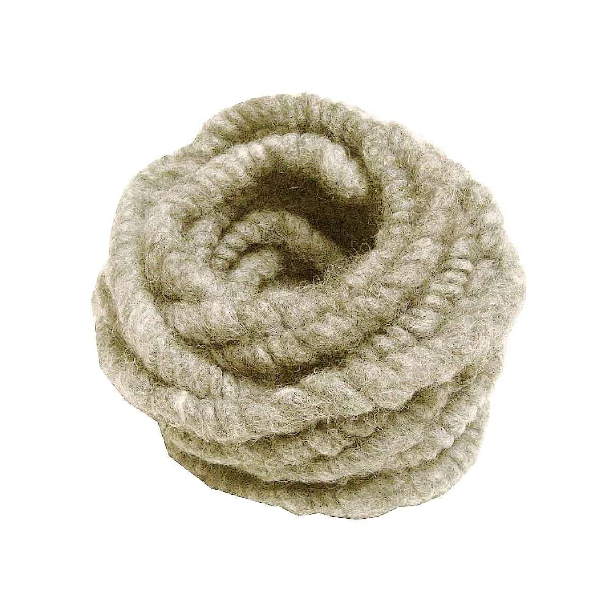 cordelette paisse laine de mouton blanc naturel 3m x 1cm protection hivernale des plantes. Black Bedroom Furniture Sets. Home Design Ideas