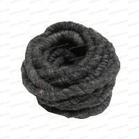 Cordelette épaisse laine de mouton - Gris naturel 3m x 1cm