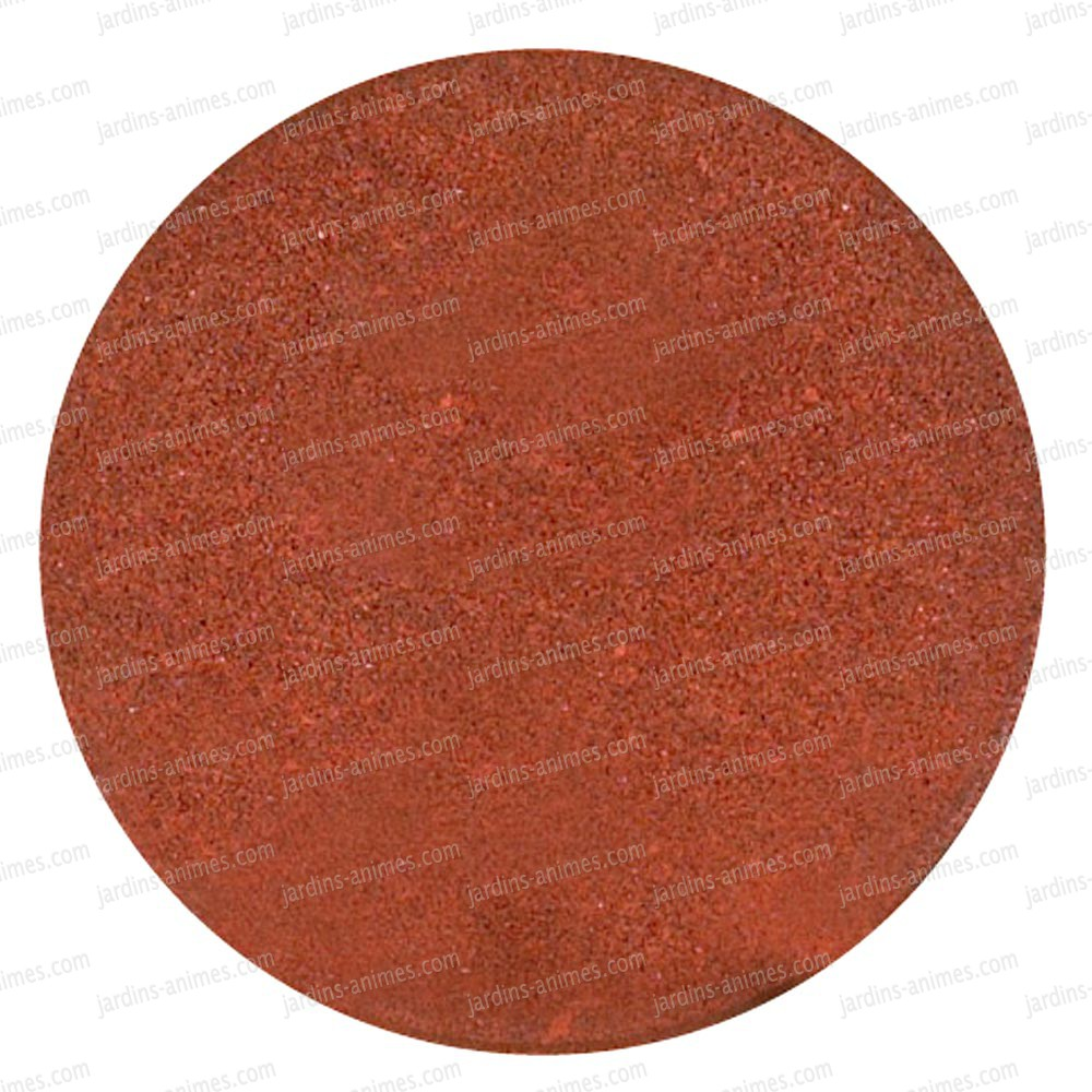 dalle ronde caoutchouc recycl rouge terracotta all e. Black Bedroom Furniture Sets. Home Design Ideas
