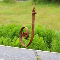 Escargot - déco de jardin en métal