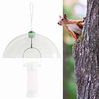 Dome anti ecureuil pour mangeoire à oiseau