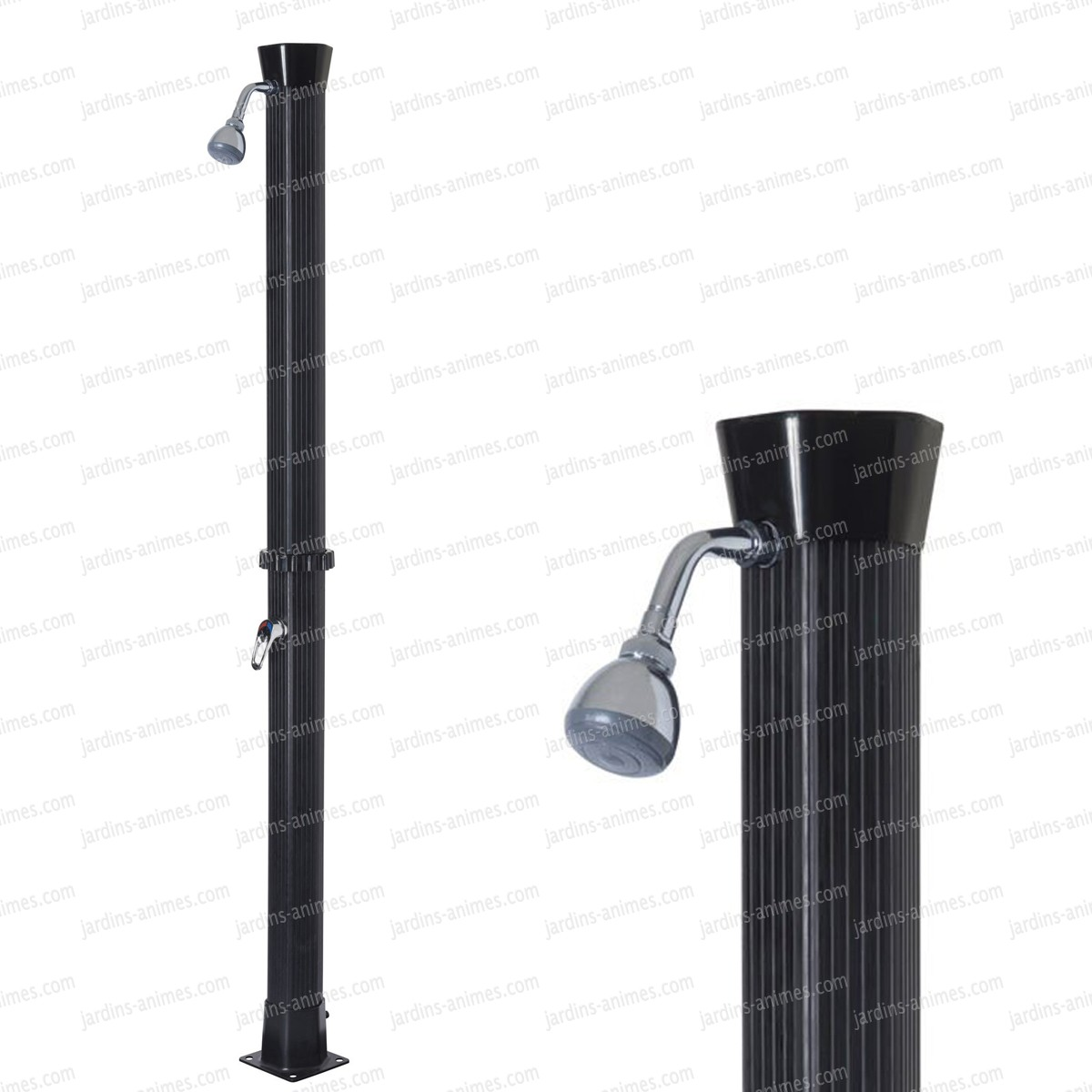 douche ecologique solaire 18l mobilier de jardin. Black Bedroom Furniture Sets. Home Design Ideas