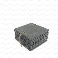 Etiquette ardoise 95x95mm X10