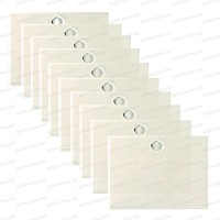 Etiquette transparente 95x70mm X10