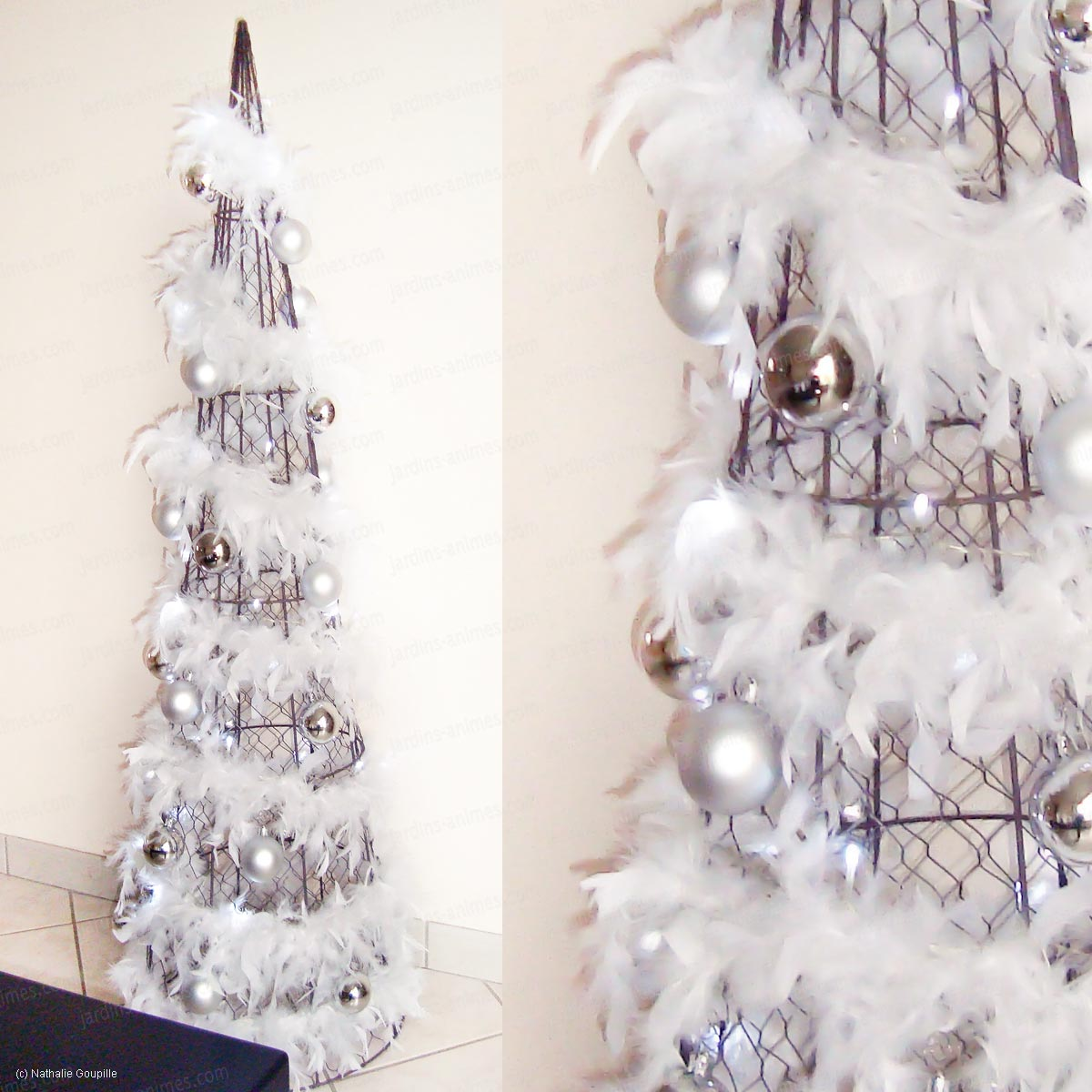 topiaire cone arbre de noel design art topiaire buis. Black Bedroom Furniture Sets. Home Design Ideas
