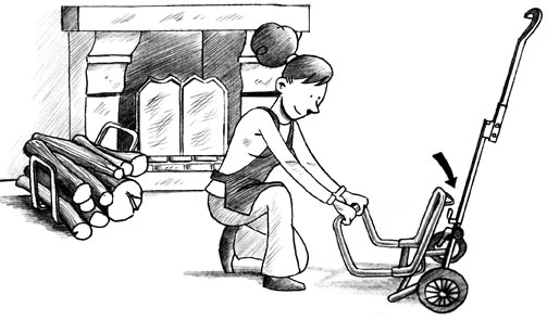 chariot diable. Black Bedroom Furniture Sets. Home Design Ideas