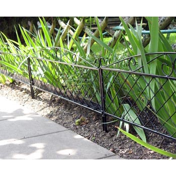 Bordure de jardin d co acier bordure de jardin - Bordure jardin tressee ...