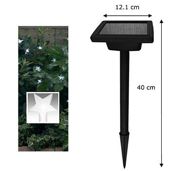 Guirlande lumineuse solaire 30 leds eclairage et for Guirlande jardin led