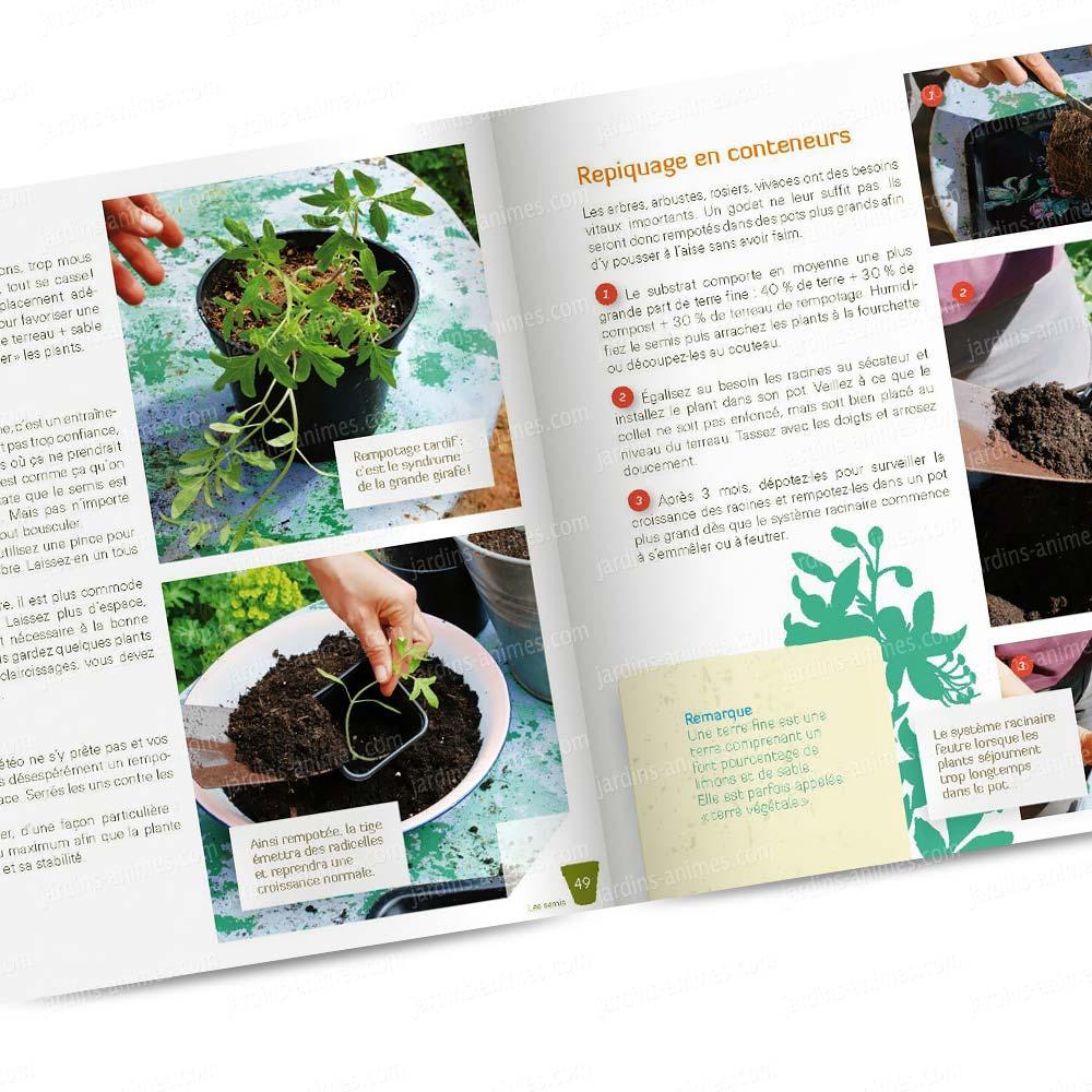 je multiplie les plantes au jardin livre terre vivante livres jardin bio. Black Bedroom Furniture Sets. Home Design Ideas