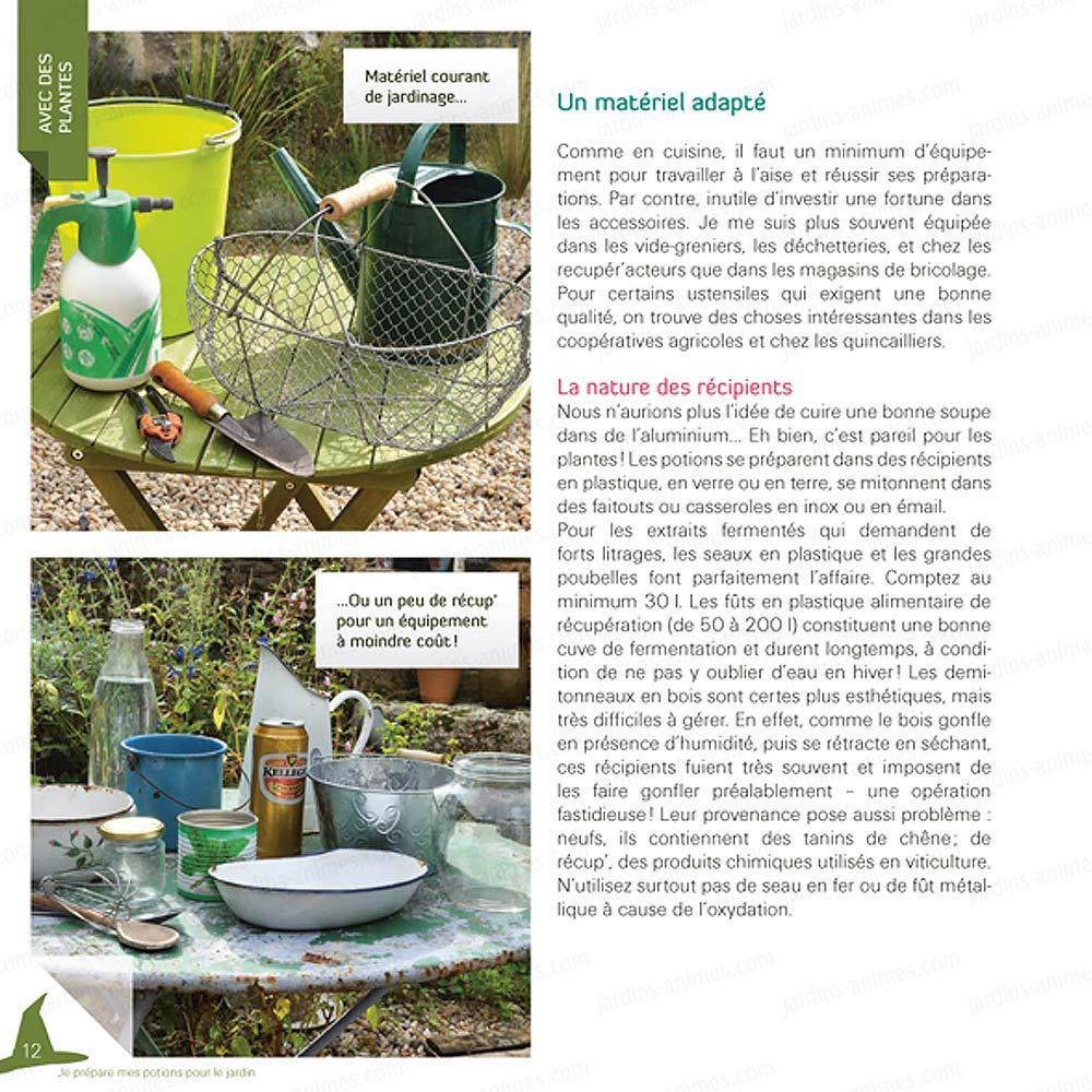 Je pr pare mes potions pour le jardin livres jardin bio - Compagnie des produits pour le jardin ...